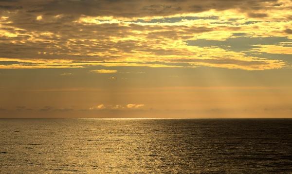 Tasman Sea Sunrise by dcurry