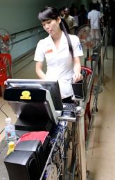 Cashier Chi Chu Tunnels Vietnam