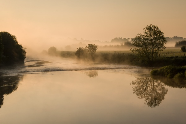 Mist on the river by ChrisOs
