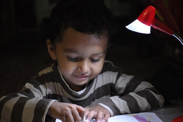 The kindergarten Genius by 2himanshu