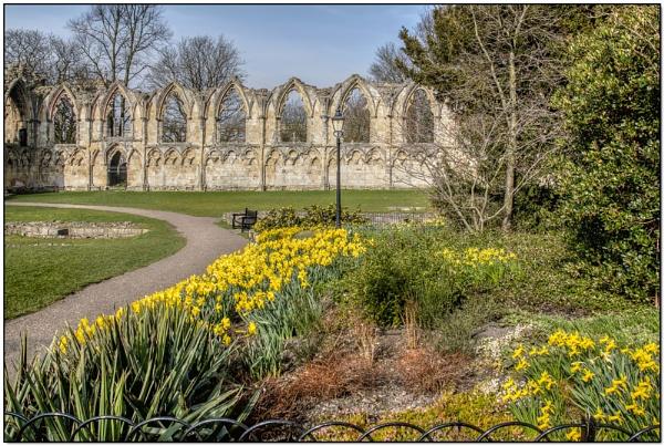 Museum Gardens, York by TrevBatWCC