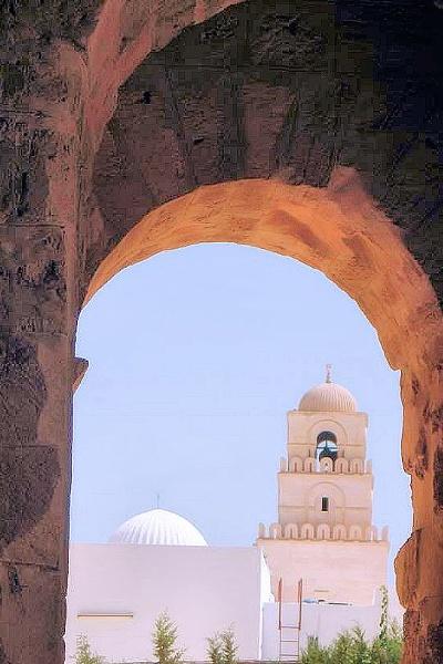 El Djem Tunisia by john calderbank