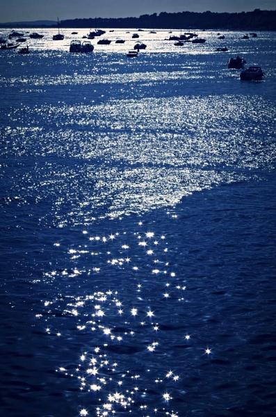Wide blue sea by LouiseTopp