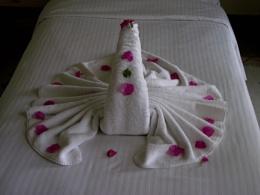 eygptian towel art