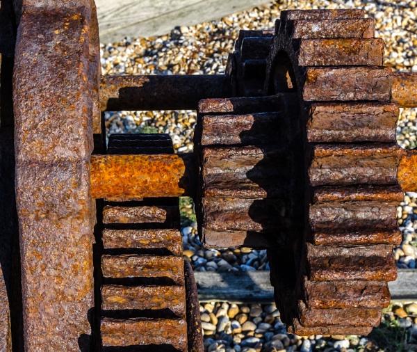 The Three Rusty Gears by Nikonuser1