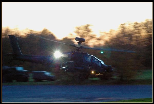 AH-64 Apache by scarjam