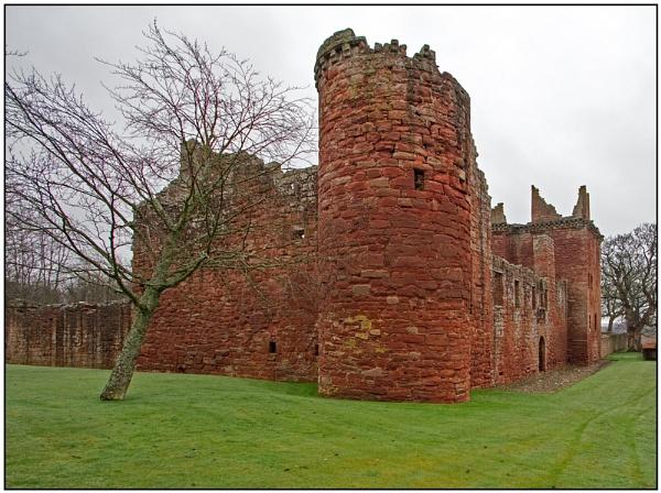 Edzell Castle by lenocm