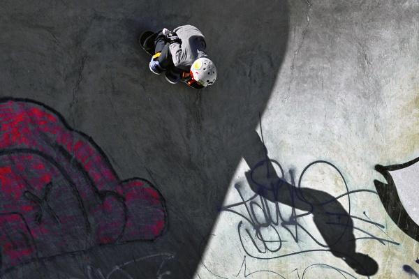 Ashbridges Bay Skate Park Toronto Canada by thelearningcurvephoto
