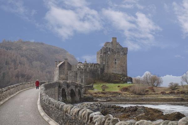 Eilean Donan Castle by Bullyuk123