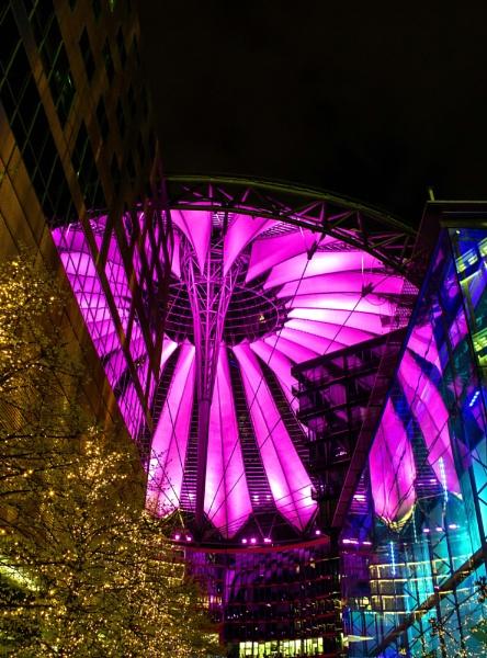 Sony Centre, Potsdamer Platz, Berlin by Normanr