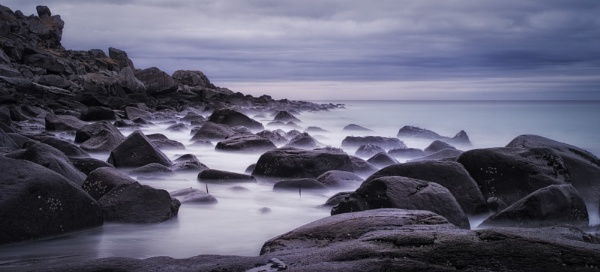 Spirits on Twilight Shore by ColWalder