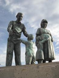 "Sculpture ""The Family"""