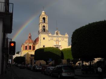 San Antonio's Church in Queretaro