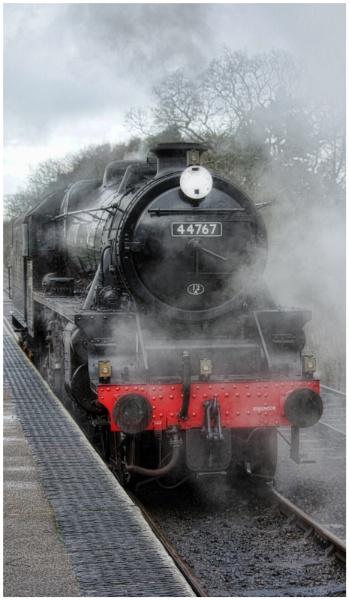 44767 \'George Stephenson\' by malleader