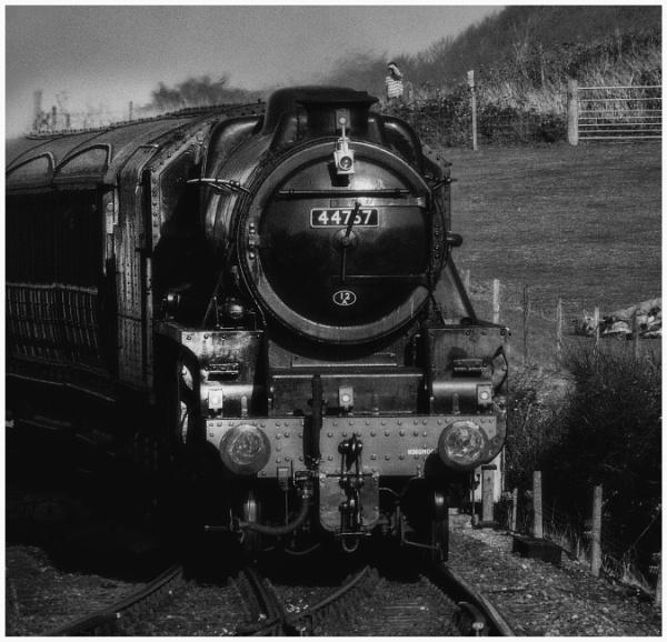 44767 \'George Stephenson\' 2 by malleader