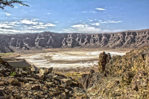 Al Waba Crater by WorldInFocus