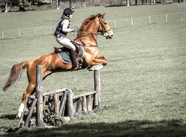 First jump...Wye ride by throgmorton