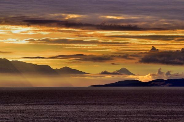 Sunrise Approaching Croatia by rpba18205