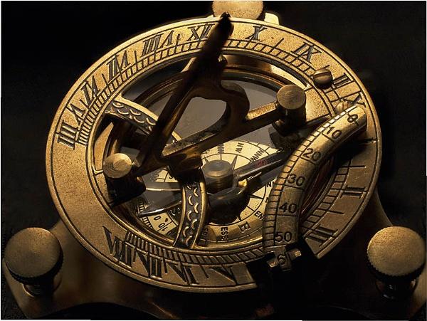 Sun Dial Compass by jbsaladino