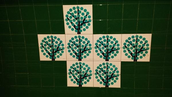 Tube tiles... by Chinga