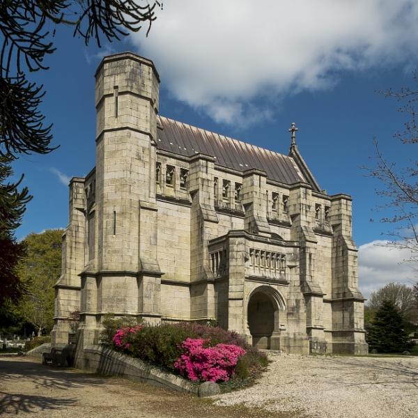 Tavistock Cemetery Chapel by topsyrm