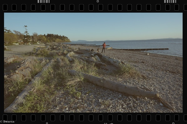 Sunset at Cresent Beach, BC III by Swarnadip