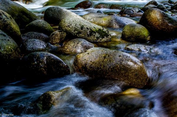 Rocks and Water by Swarnadip