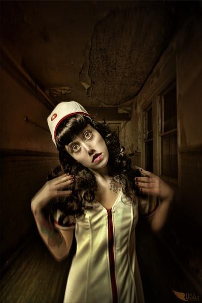 Shutter Island Nurse by paulbaybutphotography