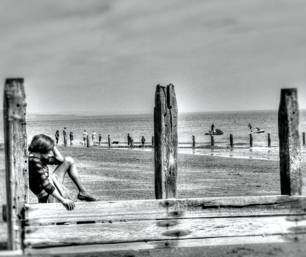 Thoughts on a Beach by Hamlin
