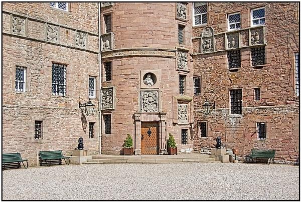 Glamis Castle II by lenocm