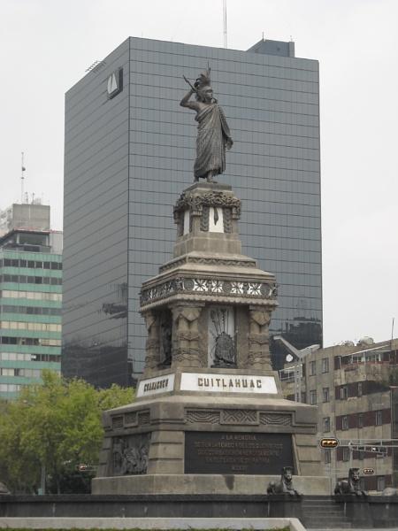 Cuitlahuac's monument