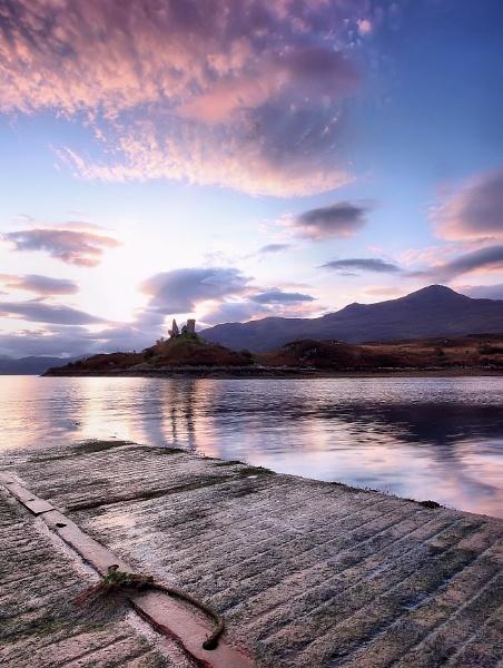a calm evening by davidcollins
