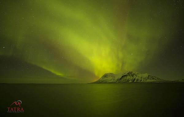 Northern Lights - Aurora Borealis - Iceland by TatraPhotography