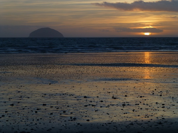 Another Girvan sunset by SHADY65