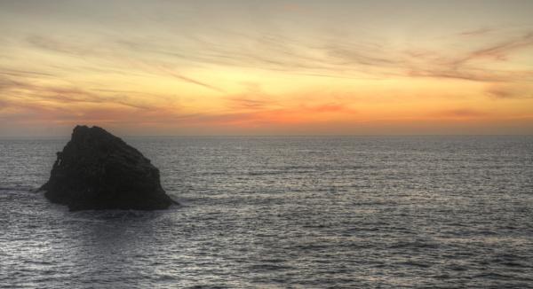 Atlantic Sunset(Boscastle)