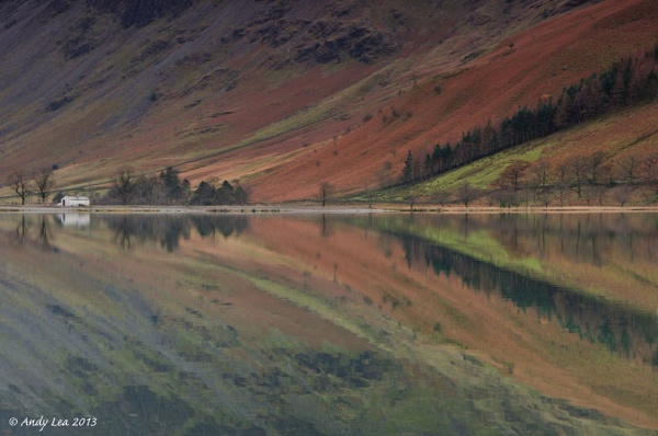 buttermere reflections by andylea