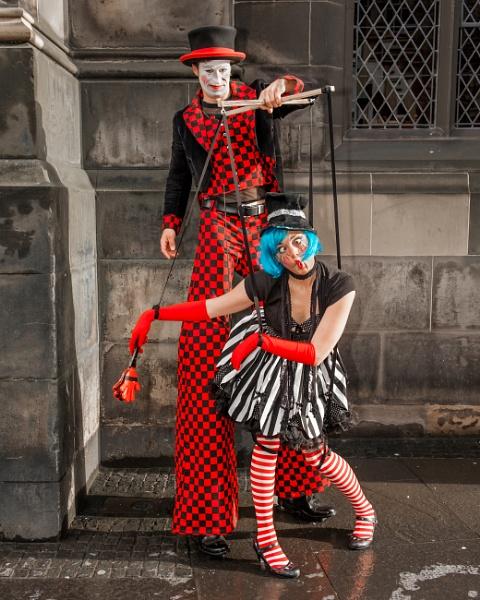 Marionette Girl. by mediaman