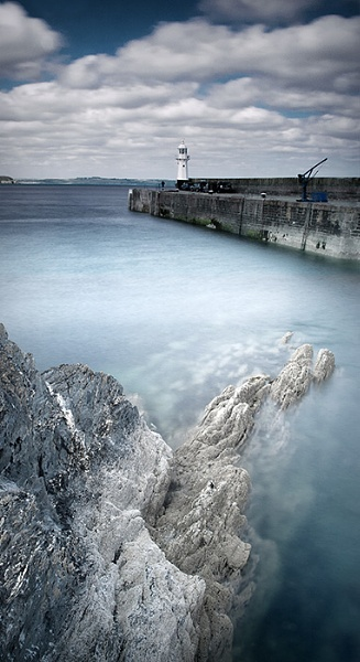 Cornish Harbour by teabelly