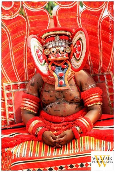 Bhagavathy Theyyam by bornav