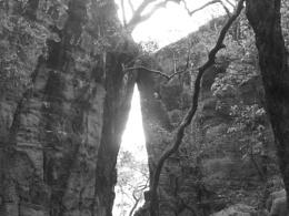 Huge ridge rocks