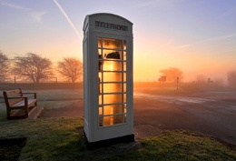 Phonebox at Skidby