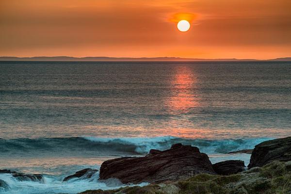 Kintyre Sunset by douglasR