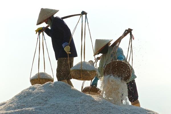 Ninh Bien Salt Fields by JN_CHATELAIN_PHOTOGRAPHY