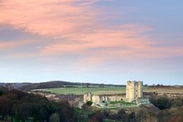 Conisbrough Castle Evening