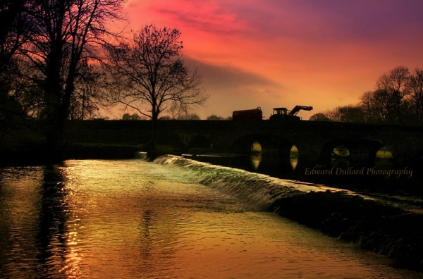 Kells bridge at end of day. by EDWARDDULLARD