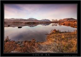 Dawn at Loch Ba