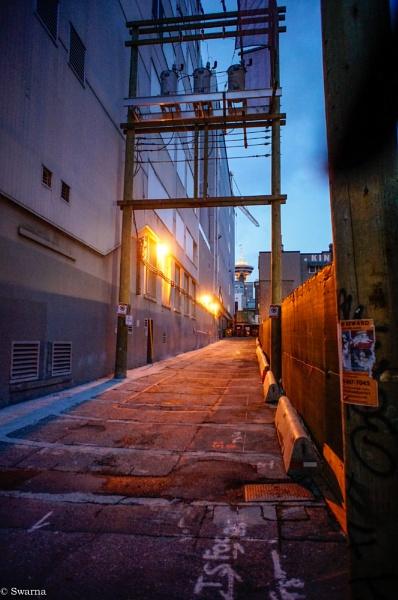 Dark Alley by Swarnadip