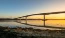 Bridge at sunset by irishman