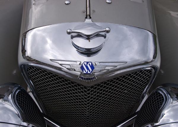 Jaguar SS 100 Badge detail by AndyMurdo