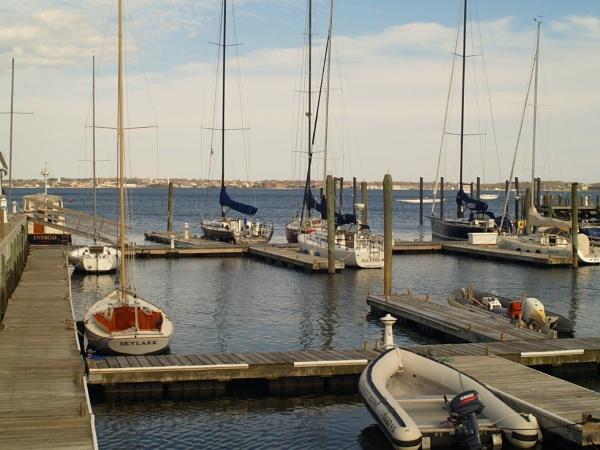 ~ Jamestown Harbor by LexEquine